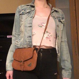 $5 ADD ON 💕Brown Roxy Crossbody purse